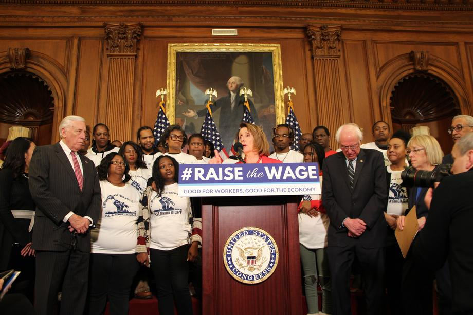 House and Senate Democrats introduce the Raise the Wage Act